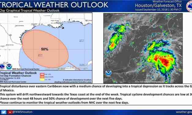 Watching the northwest Gulf of Mexico for potential tropical mischief by late week