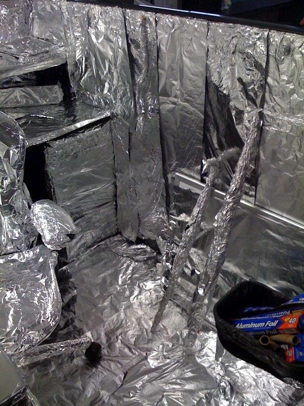 foiled office cube 2