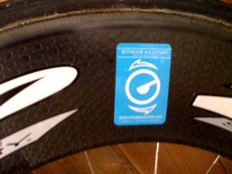 Zipp 1080 rear wheel from Echappe Equipment
