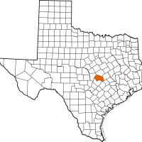 eviction service map in Williamson County Texas