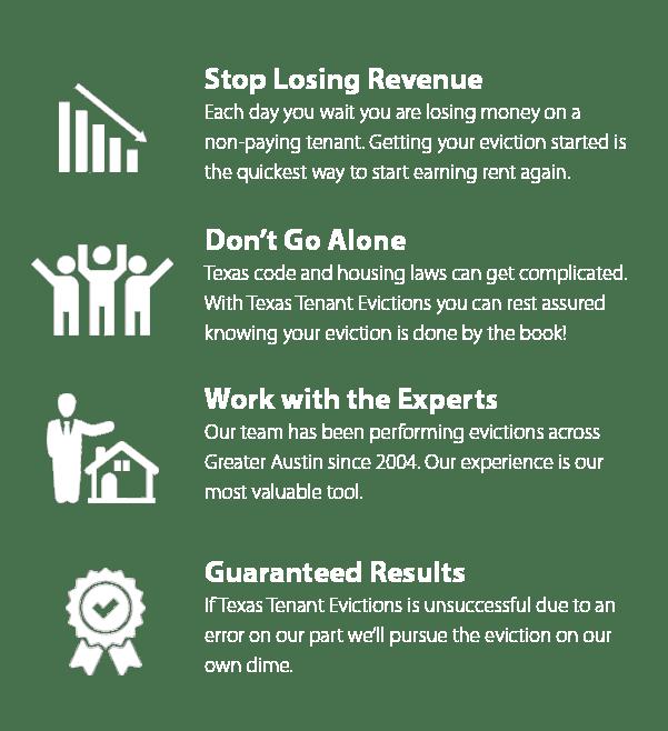 eviction service benefits