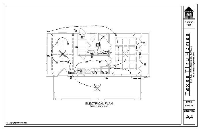 Texas Tiny Homes Plan 505