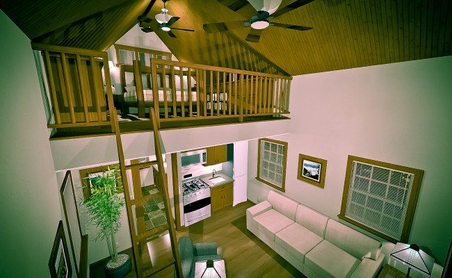 Texas Tiny Homes Plan 448