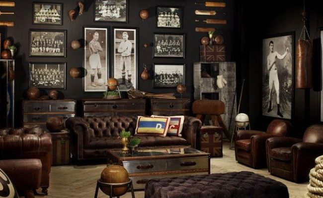 50 Tips And Ideas For Man Cave Decor