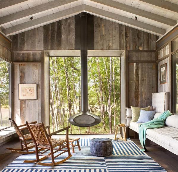 Modern Rustic Cabin Interior Design