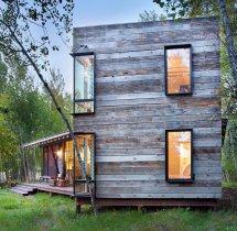Rustic Modern Cabin Home Design