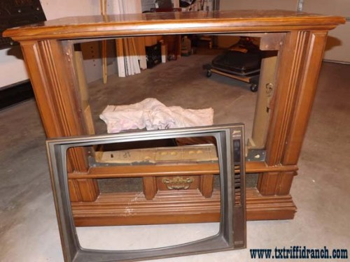 Television: stripped frame