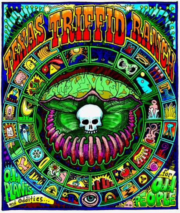Texas Triffid Ranch T-shirt promo