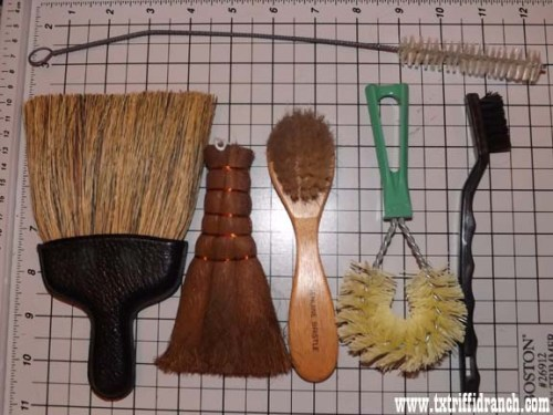 Brushes and scrubbers