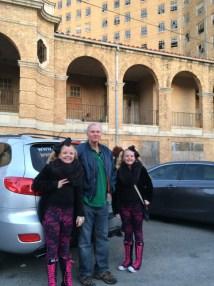 Ghost Walking Baker Hotel- Travels Of Texas Twins