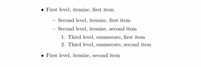 nested-list