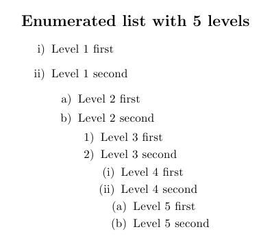 enumitem-5-levels-example