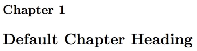 Fancy LaTeX chapter styles – texblog
