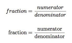 fraction-notation-math-mode