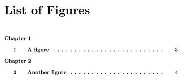 Figure numbering in latex