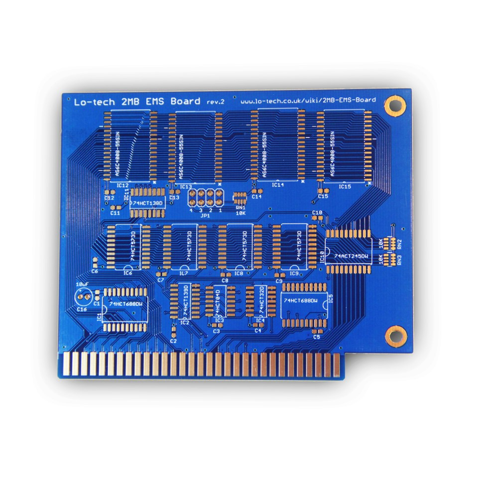 Lo-tech EMS 2MB (PCB Only)
