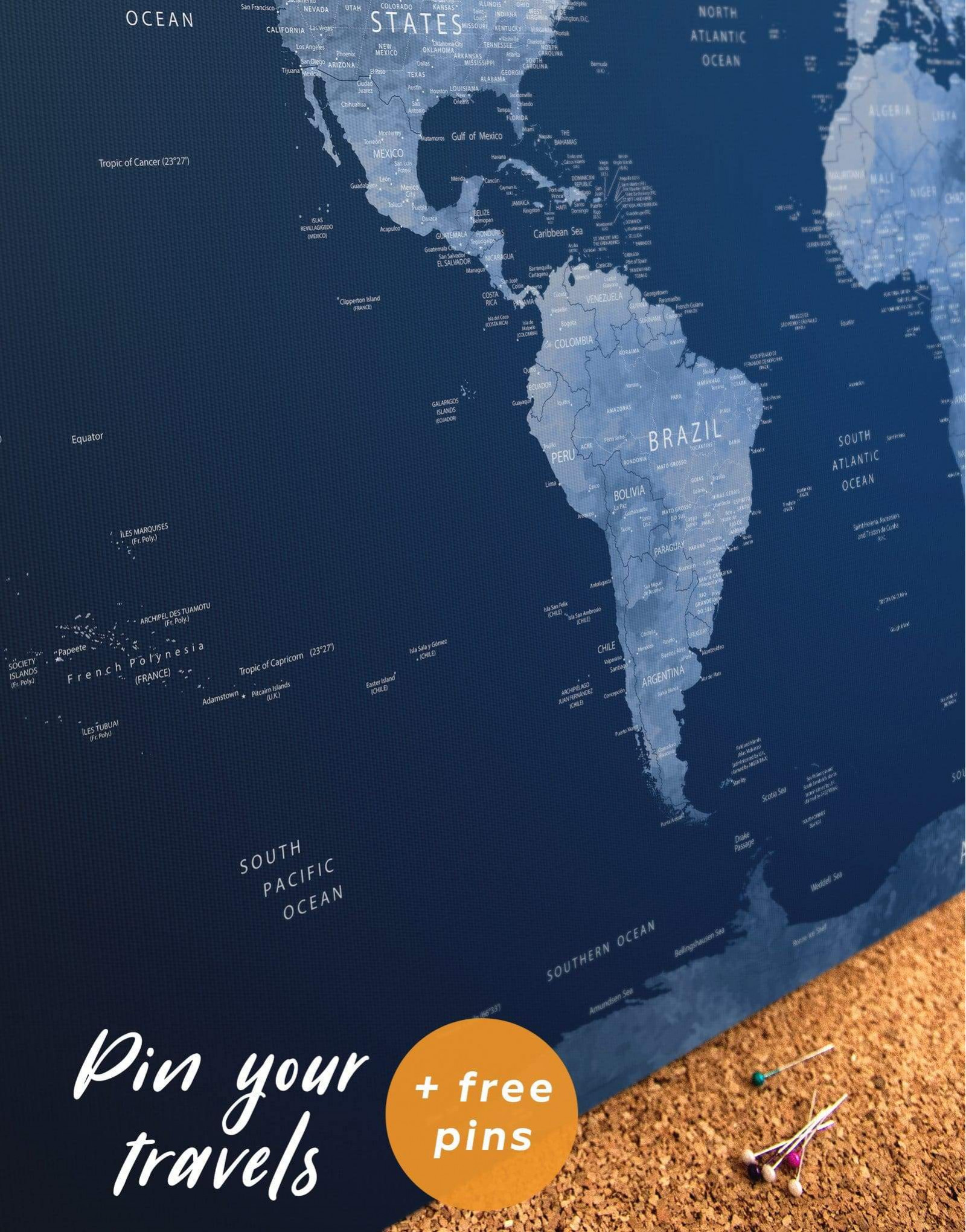 The World (archipel) : world, (archipel), World, Canvas, TexelPrintArt