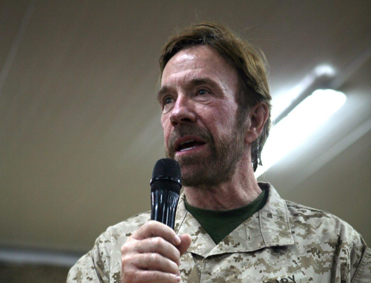 Chuck Norris Named Honorary Texan by Senate