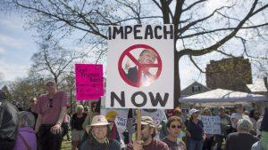 """Impeach Trump Now"" protestors."