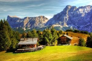 South Tyrol Dolomites Scene