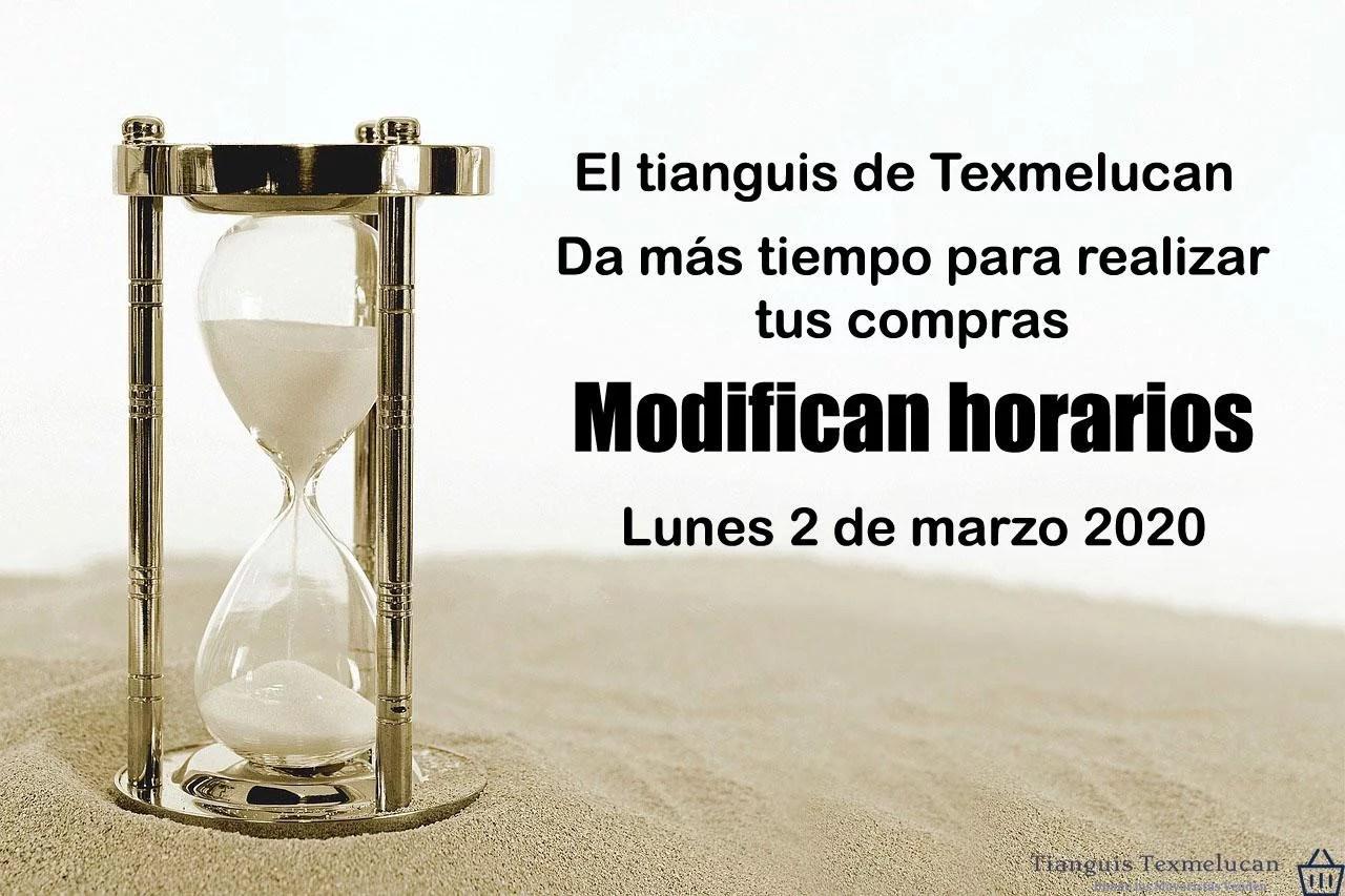 Modifican horarios los tianguistas de San Martin Texmelucan