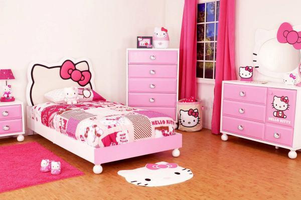 Hello Kitty Σχέδια παιδικού δωματίου1