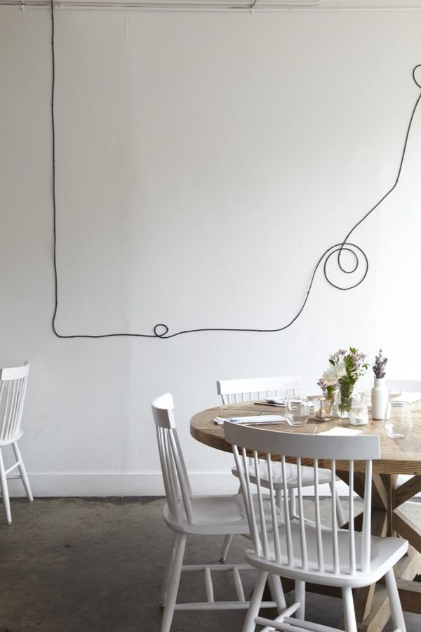 Wall Art με καλώδια8