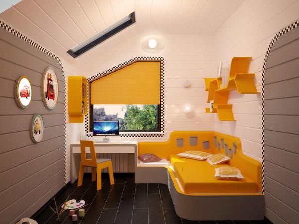Απίθανα φωτεινά παιδικά δωμάτια12