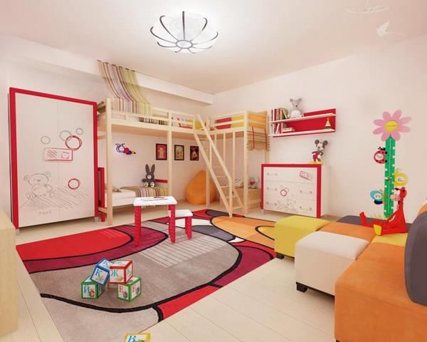 Απίθανα φωτεινά παιδικά δωμάτια23