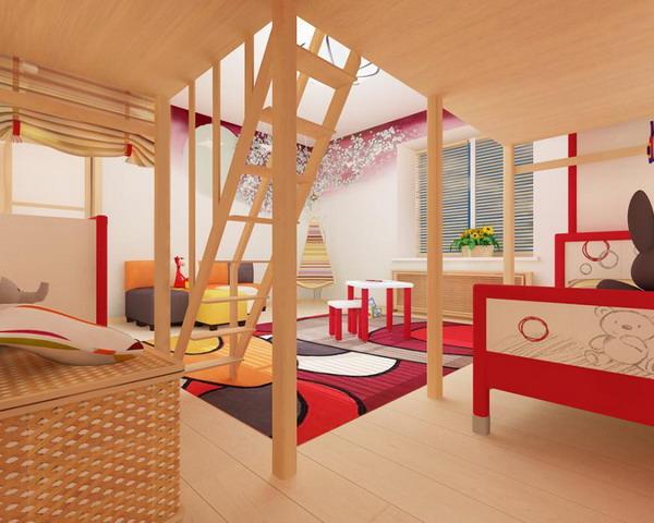 Απίθανα φωτεινά παιδικά δωμάτια26