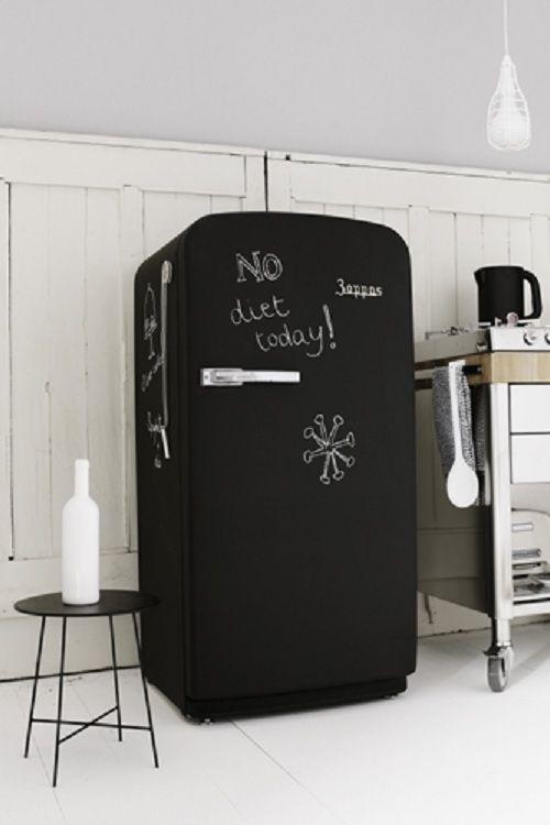 Βαφή Μαυροπίνακα στο ψυγείο σας7