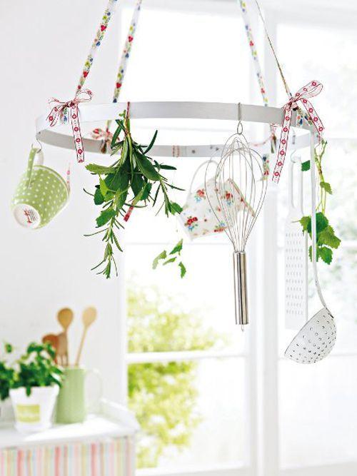 Ιδέες Ανοιξιάτικης διακόσμησης για την Κουζίνα σας