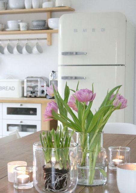 Ιδέες Ανοιξιάτικης διακόσμησης για την Κουζίνα σας30