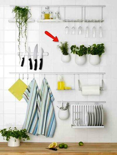 Πώς να διακοσμήσετε την κουζίνα σας με βότανα18