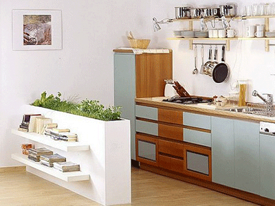 Πώς να διακοσμήσετε την κουζίνα σας με βότανα2