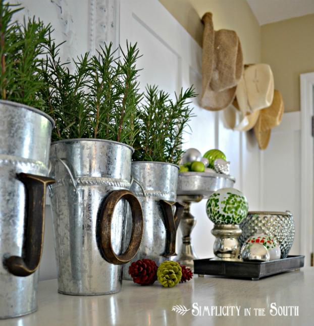 Πώς να διακοσμήσετε την κουζίνα σας με βότανα4