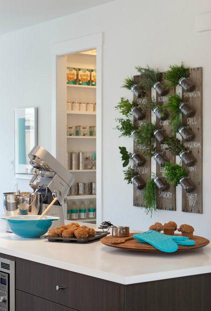Πώς να διακοσμήσετε την κουζίνα σας με βότανα7