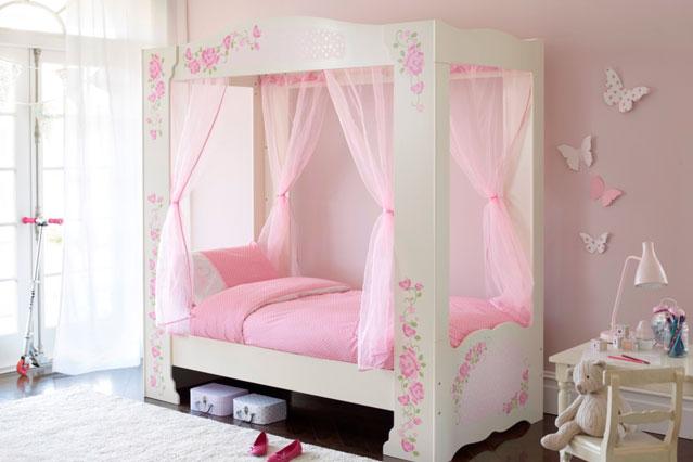 Ροζ Ιδέες για παιδικό Υπνοδωμάτιο3