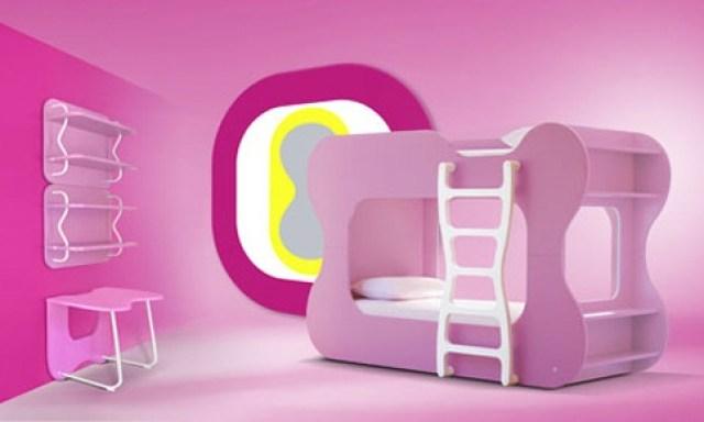 Ροζ Ιδέες για παιδικό Υπνοδωμάτιο6