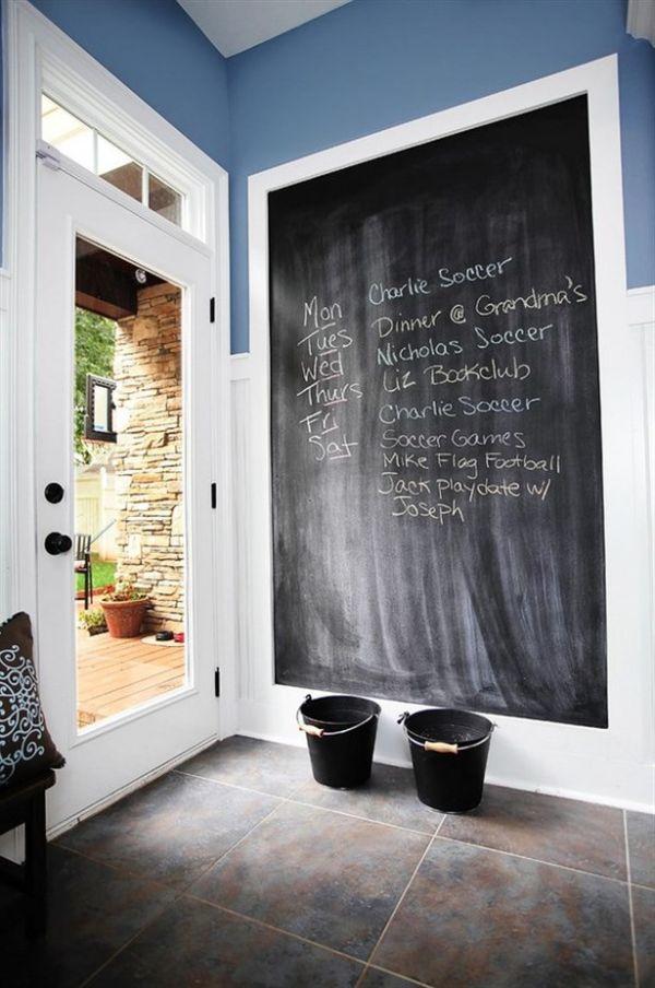 χρώμα μαυροπίνακα για διακόσμηση στο σπίτι3