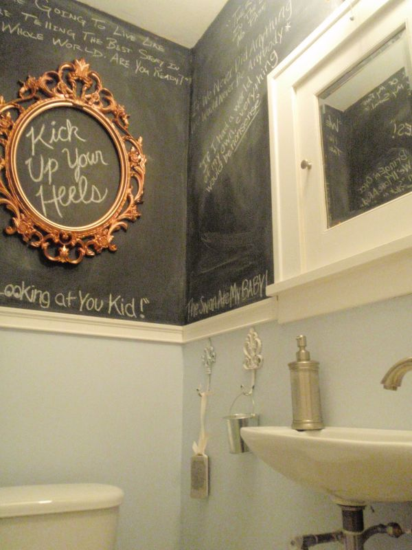 χρώμα μαυροπίνακα για διακόσμηση στο σπίτι36