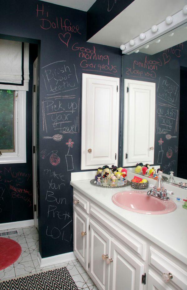 χρώμα μαυροπίνακα για διακόσμηση στο σπίτι38
