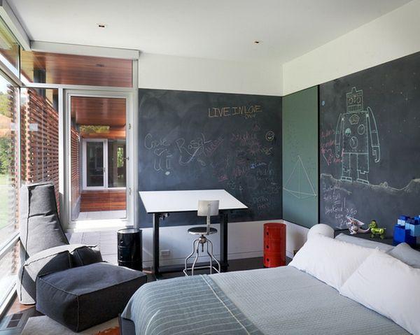 χρώμα μαυροπίνακα για διακόσμηση στο σπίτι42