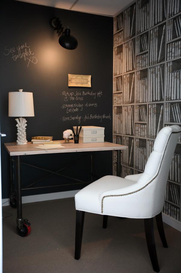 χρώμα μαυροπίνακα για διακόσμηση στο σπίτι6