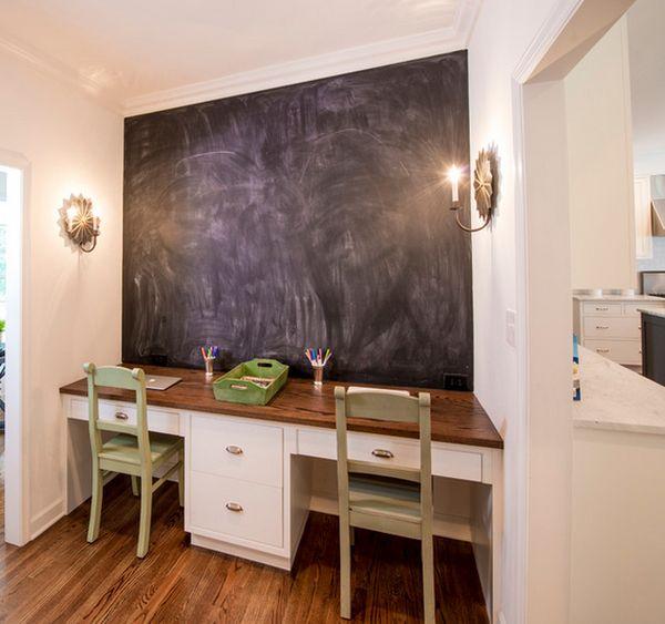 χρώμα μαυροπίνακα για διακόσμηση στο σπίτι8