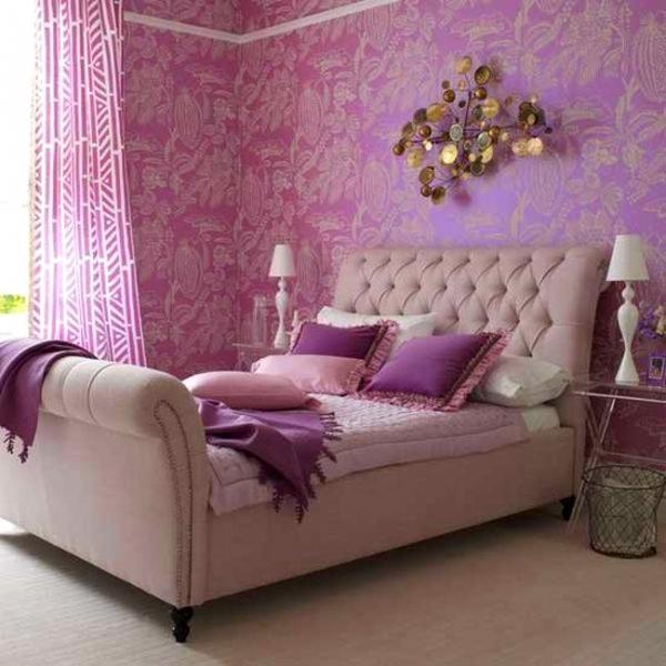 Τέλεια μωβ υπνοδωμάτια12