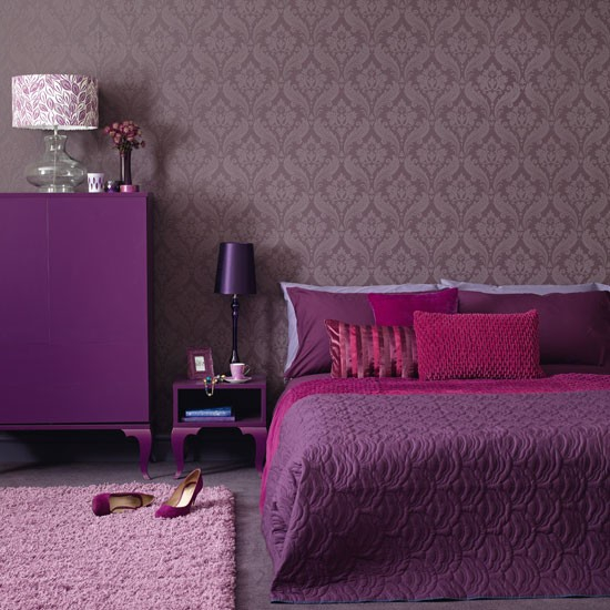 Τέλεια μωβ υπνοδωμάτια13