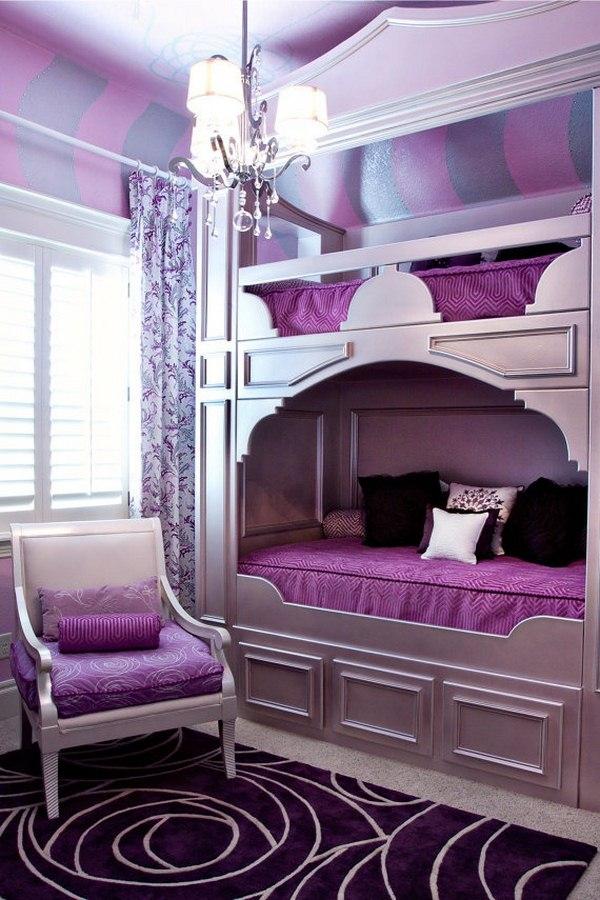 Τέλεια μωβ υπνοδωμάτια2