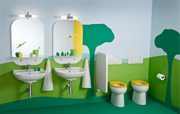 Υπέροχες Ιδέες διακόσμησης Μπάνιου για τα παιδιά σας
