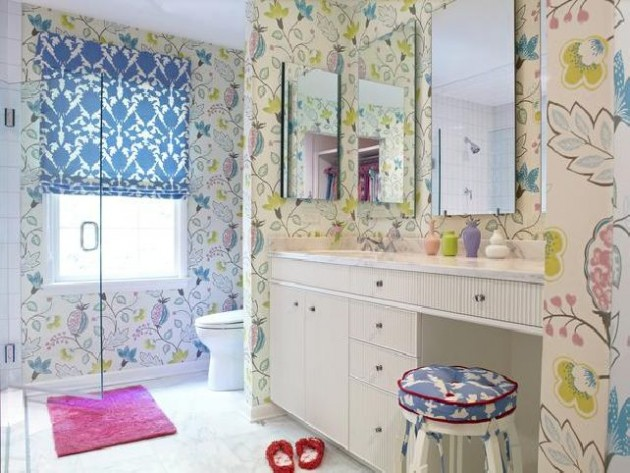Υπέροχες Ιδέες διακόσμησης Μπάνιου για τα παιδιά σας13
